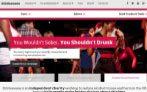 Websites informing consumers on responsible drinking advice